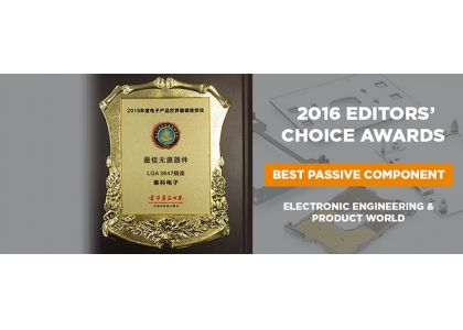 The Data & Devices Division won EEPW's Editor's Choice Award for its LGA 3647 socket